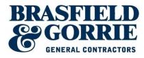 Brasfield and Gorrie General Contractors Logo