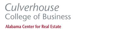 Culverhouse College of Business Alabama Center for Real Estate Logo